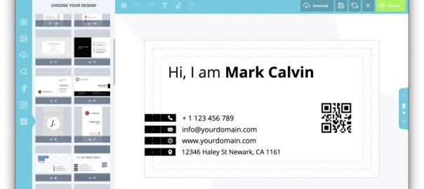 Effective Business Card