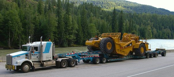 Heavy Haul Load truck
